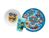 Zak! Designs Mealtime Set with Plate, Bowl and Tumbler