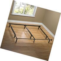 Zinus Compack Adjustable Steel Bed Frame, for Box Spring &
