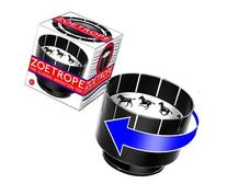 Zoetrope Animation Toy: Classic Victorian Motion Illusion