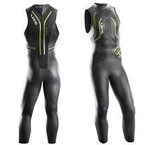 2XU Men's A:1S Active Sleeveless Triathlon Wetsuit,Black/