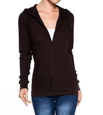 A.S Juniors Active Classic Thermal Hoodie Zip Up Sweatshirt