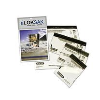 "LOKSAK aLokSak Waterproof Storage Bags 12x12"" 2-pack"
