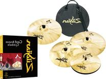 Zildjian A Custom  4 Pack Bonus Box Set