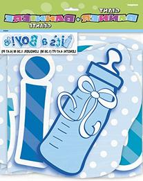4.47ft It's A Boy Baby Shower Jointed Banner