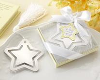 kateaspen Metal Bookmark with White-Silk Tassel, A Star is