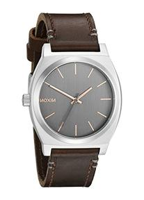 Nixon Men's A0452066 Time Teller Quartz Brown Watch with