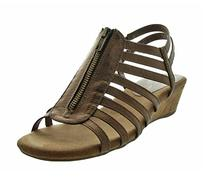 A2 by Aerosoles Women's Yetaway Wedge Sandal,Bronze Snake,7