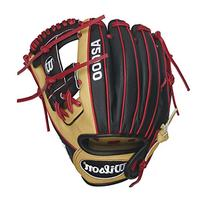 Wilson A2000 DP15 SuperSkin Infield Baseball Glove, Blonde/