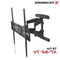 Fleximounts A21 47-84 inch Big TV Wall Mount Bracket Full