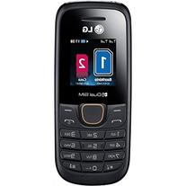 LG A275 Black Unlocked GSM Dual SIM QuadBand Cell Phone -
