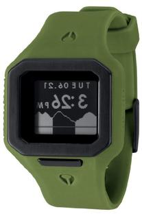 Nixon Men's A3161085 Supertide Digital Quartz Green Watch