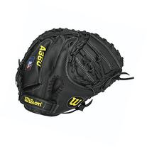 Wilson A360 3 Baseball Catcher's Mitt, Grey/Black/White,