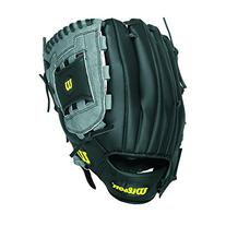 Wilson A360 Baseball Glove, Grey/Black/White, Right Hand
