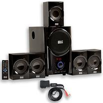 Acoustic Audio AA5160 Home Theater 5.1 Speaker System 500W
