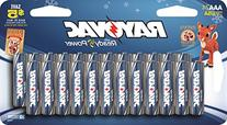 Rayovac AAA Alkaline Batteries 24 Pack - Made In USA