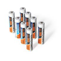 PowerDriver AAA Ni-MH Rechargeable Batteries for Flashlights