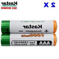 Kastar AAA  Ni-MH 1000mAh Super High-Capacity Rechargeable