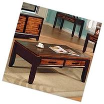 Steve Silver Abaco Storage Coffee Table - Rectangle - 19.0