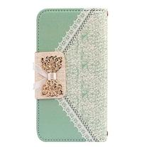 ABC® Fresh Cute Flip Wallet Leather Case Cover for iPhone