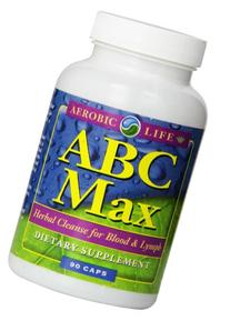 ABC Max Herbal Blood and Lymph Cleanse Capsules, 90 Count