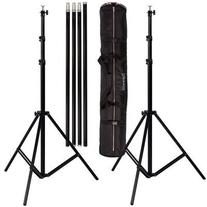 Ravelli ABS Photo Video Backdrop Stand Kit 10' Tall x 12.3'