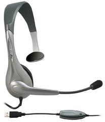 Cyber Acoustics Mono USB Headset,headphone with microphone,