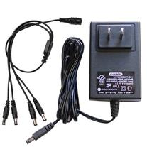 GW Security AC/DC 12-Volt 2-Amp  Power Adapter Supply and 1
