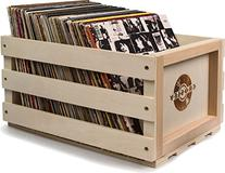 Crosley AC1004A-NA Record Storage Crate Holds up to 75