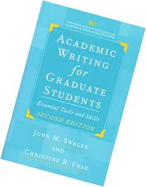 Swales academic writing for graduate students pdf