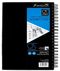 Mead Académie Casemade Twinwire Sketchbook, 70 Sheets,