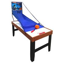 Hathaway Accelerator 4-in-1 Multi-Game Table with Basketball