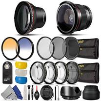 52MM Professional Accessory Kit for NIKON DSLR Bundle with