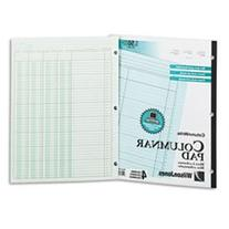 ** Accounting Pad, Four Eight-Unit Columns, Two-sided,