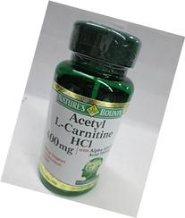 Nature's Bounty Acetyl L-Carnitine 400 mg with Alpha Lipoic