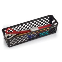 Achieva Long Supply Basket, Pack of 3, Recycled, Black  Size