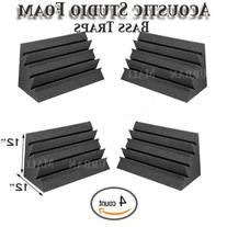 Acoustic Foam XL Bass Trap Studio Soundproofing Corner Wall
