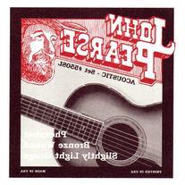 John Pearse Acoustic Guitar Strings Phosphor Bronze Slightly