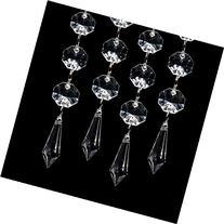 XCSOURCE 30PCS Acrylic Crystal Clear Garland Hanging Bead