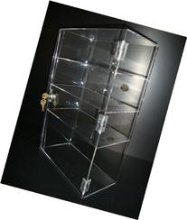 Acrylic Lucite Showcase Jewelry Pastry Bakery Counter
