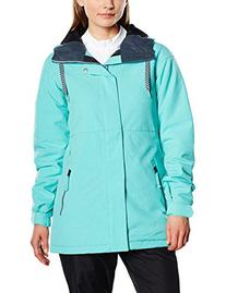 Volcom Junior's Act Insulated Snow Jacket, Glacier Blue,