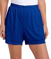 """Champion Ladies' Active 5"""" Mesh Shorts - Athletic Royal -"""