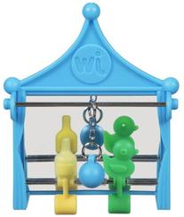 JW Pet Company Activitoy Shooting Gallery Small Bird Toy,