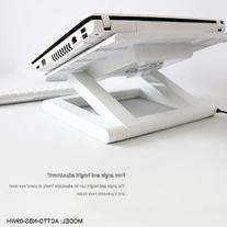 ACTTO NBS-09WH NOTEBOOK LAPTOP COOLING STAND W/ 4 PORT USB