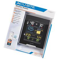 Acu-Rite Indoor Outdoor Color Weather Station - 1 Each