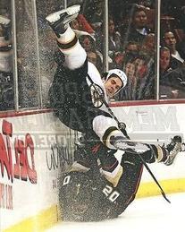 Adam Mcquaid Boston Bruins check along boards ice 8x10 11x14