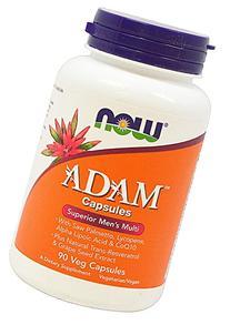 NOW Foods Adam Superior Men's Multi-90 Vegi Caps