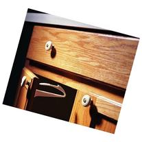 KidCo Adhesive Mount Cabinet and Drawer Lock, 6 Count