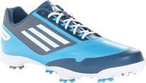 adidas Men's Adizero One Golf Shoe,Solarmet/White/Tribe Blue