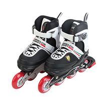 Ferrari Adjustable Inline Skate Roller Skating Red Size S