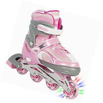 Best Choice Products Adjustable Kid Inline Skates Roller